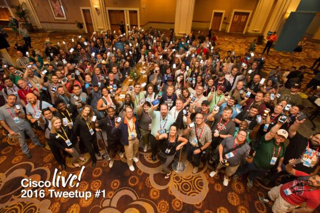 CiscoLiveTweetUp